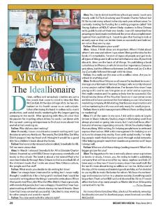 Alex McConduit Breakthru Magazine