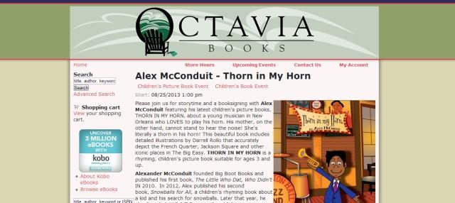 Octavia Book Signing